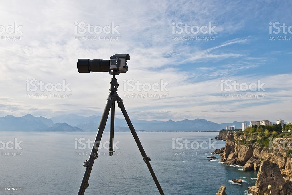 Medium Format Camera royalty-free stock photo