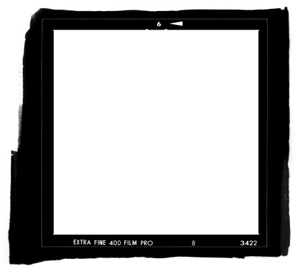 A square medium format film frame contact printed.CLICK BELOW TO SEE MORE IN THIS SERIES: