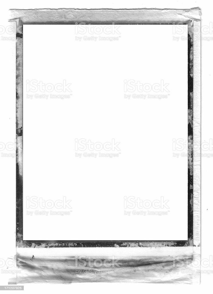 Medium Format Polaroid Film Frame Stock Photo & More Pictures of ...