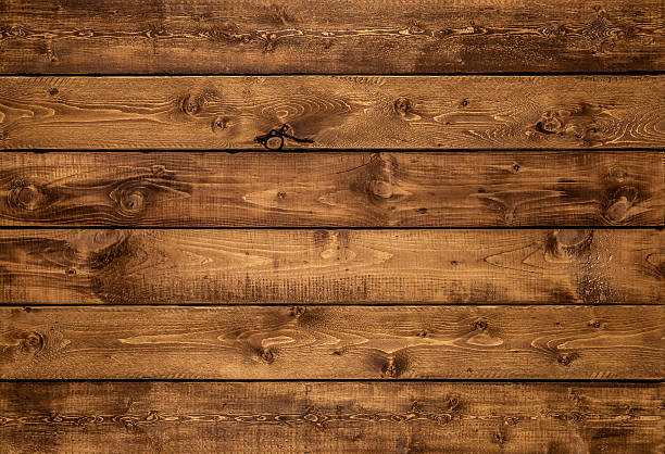 Medium golden brown wood texture background stock photo