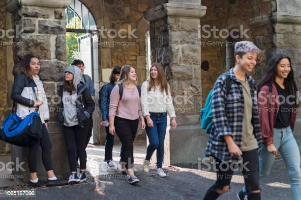 Medium group of multiethnic students going in college university picture id1065167096?b=1&k=6&m=1065167096&s=612x612&h=ejwsqymama2sza0iii2ceyiagr 0kt8 t8ifyrqh 40=