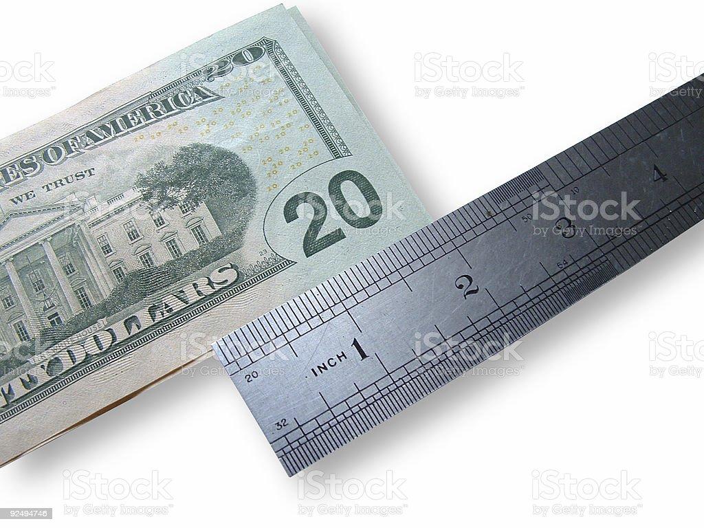 medium salary royalty-free stock photo