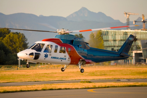 Medivac Helicopter In The Hover Stock Photo - Download Image Now