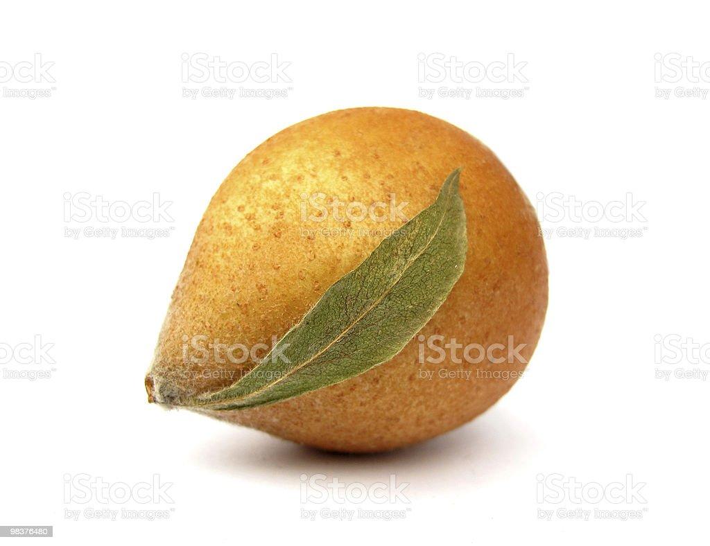Medlar fruit royalty-free stock photo