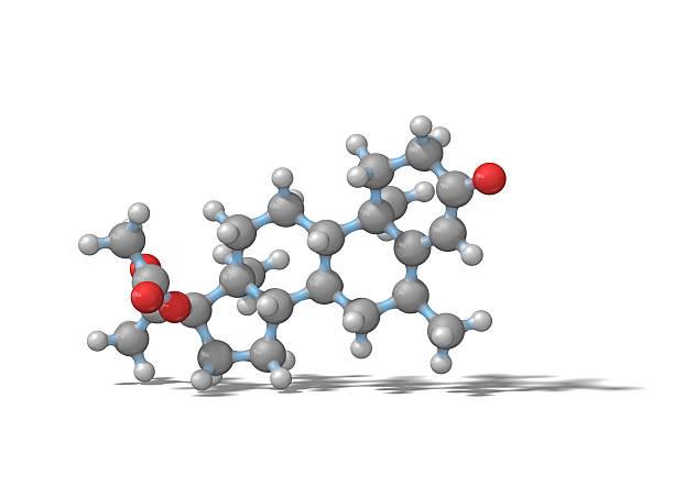 Acetato de medroxiprogesterona - foto de stock