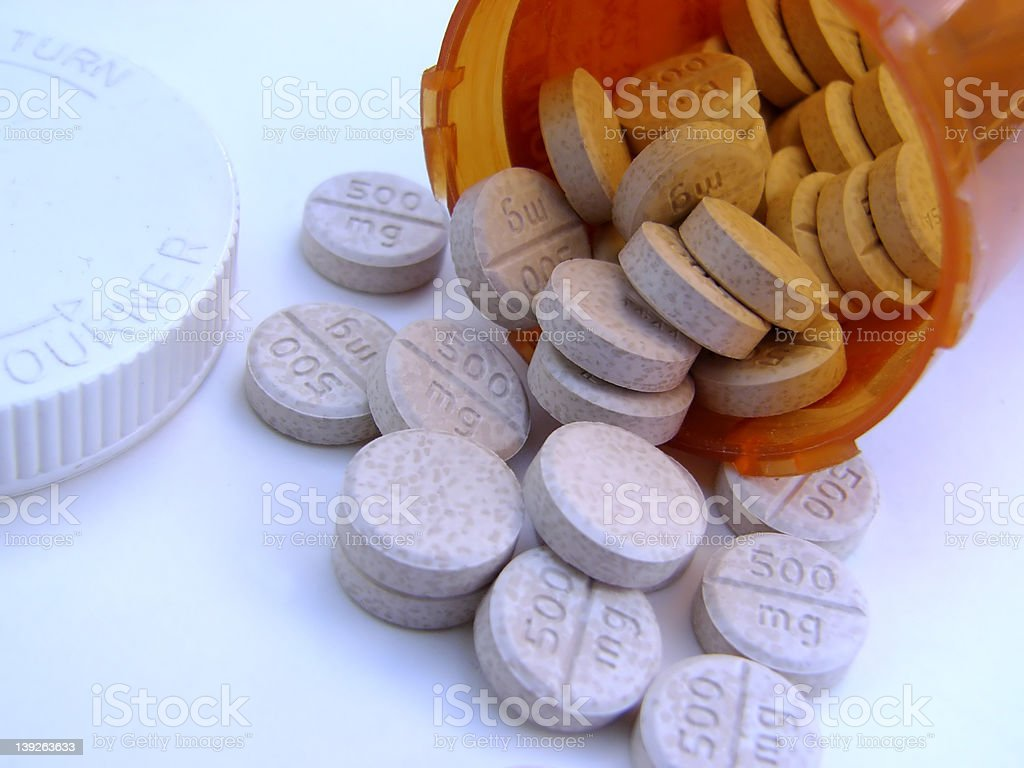 meds stock photo