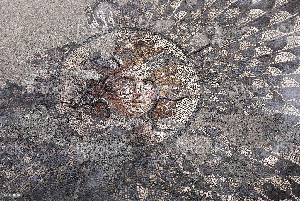 Medusa Gorgon stock photo