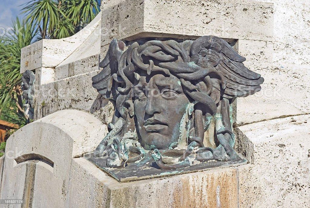 Medusa head royalty-free stock photo