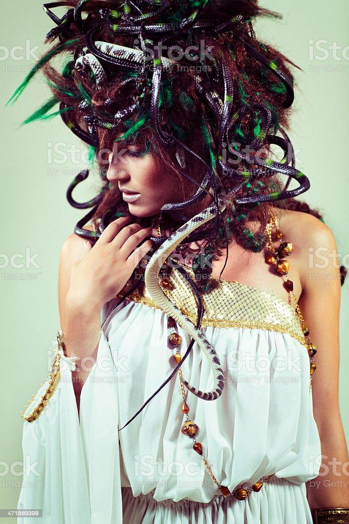 Medusa stock photo