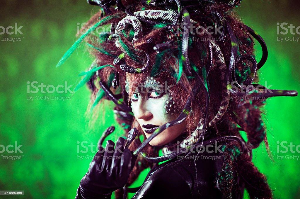 Medusa - Royaltyfri Fotografi - Bild Bildbanksbilder