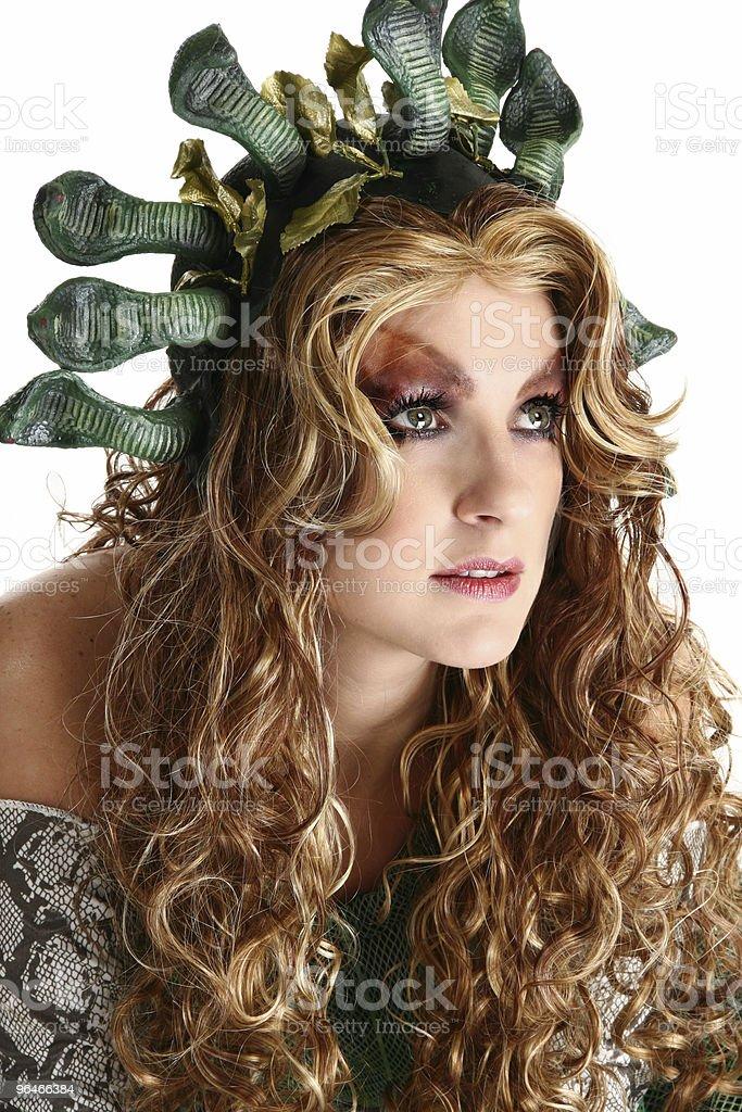 Medusa royalty-free stock photo