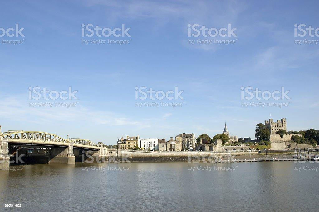 Medway Bridge zbiór zdjęć royalty-free