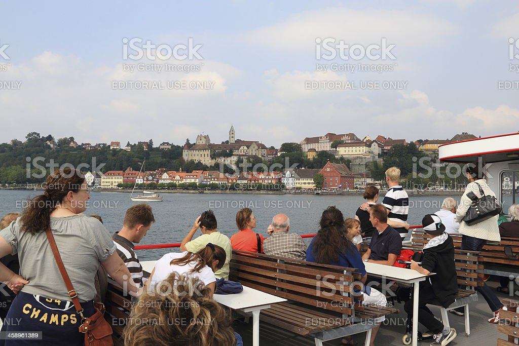 Meersburg at Lake Constance royalty-free stock photo