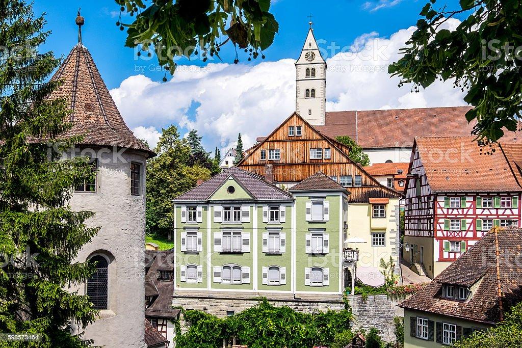meersburg - germany stock photo