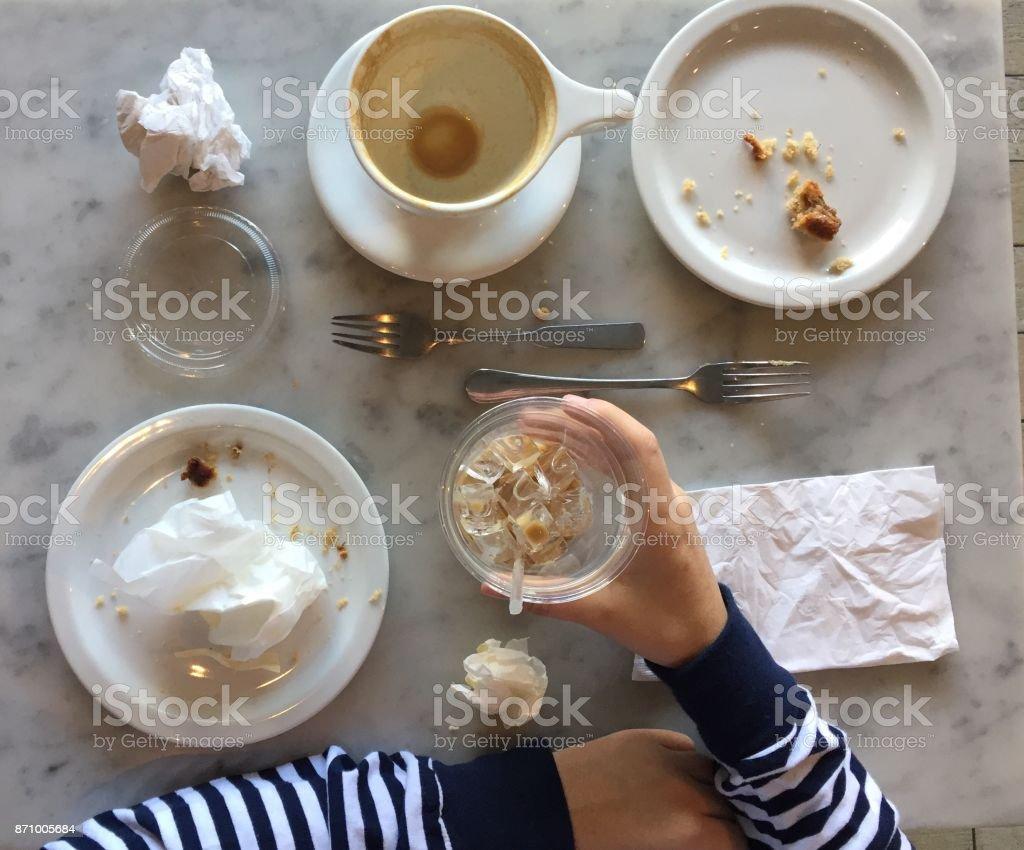 Treffen für Kaffee – Foto