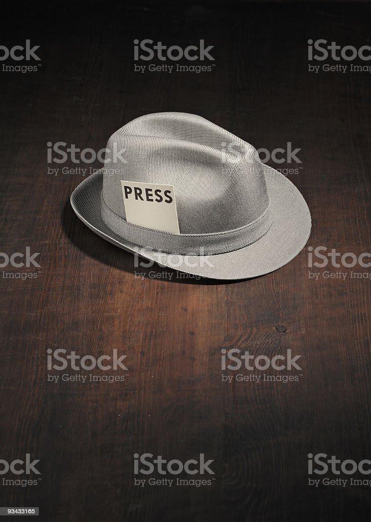 Meet the press stock photo