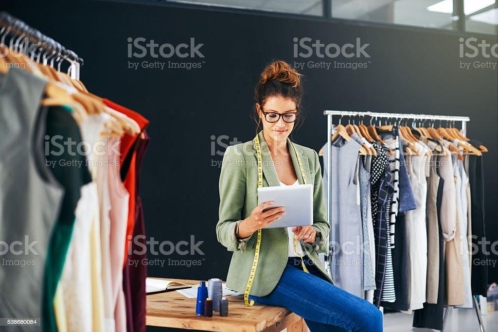 Meet your wardrobe's new best friend stock photo