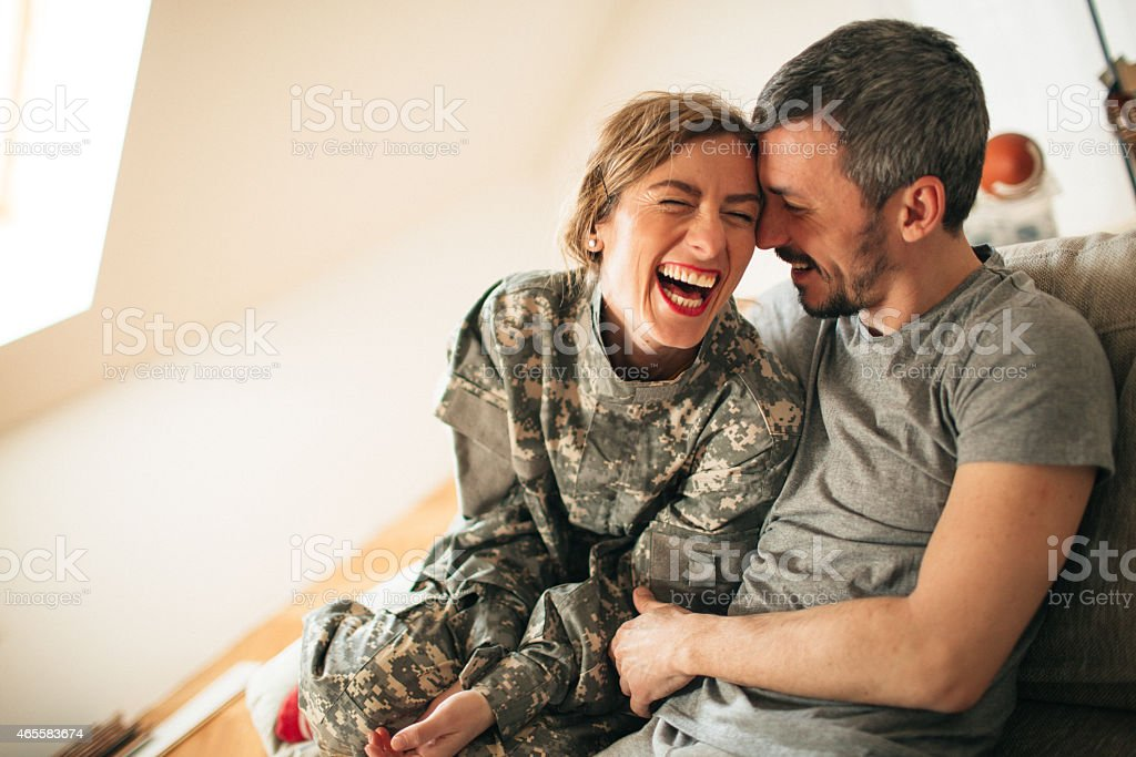 Meeting after long time royalty-free stock photo