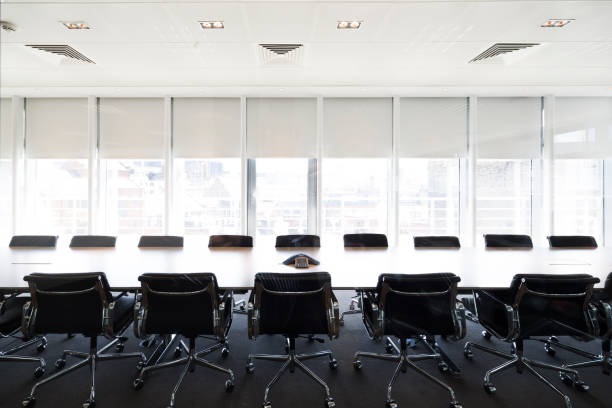 Meeting boardroom in high class office Meeting boardroom in high class office governing board stock pictures, royalty-free photos & images