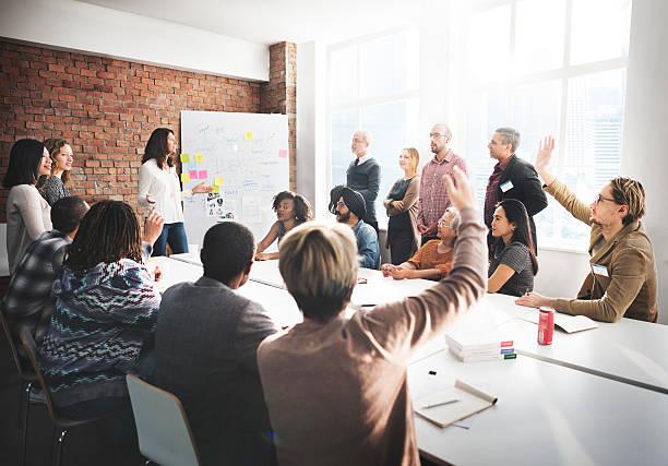 Réunion de Discussion discuter des idées Concept de partage - Photo
