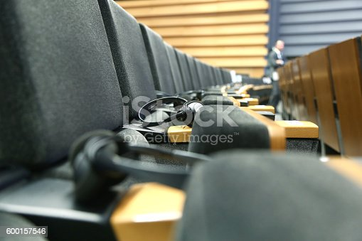 609903512 istock photo Meeting Hall 600157546