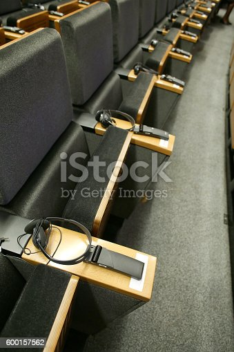 609903512 istock photo Meeting Hall 600157562
