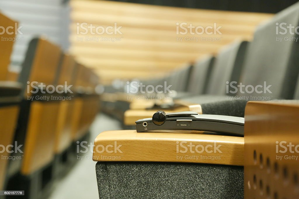 Meeting Hall stock photo
