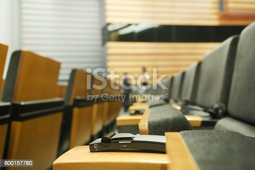 609903512 istock photo Meeting Hall 600157780