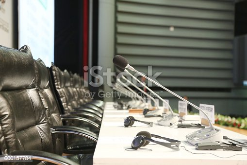 609903512 istock photo Meeting Hall 600157784