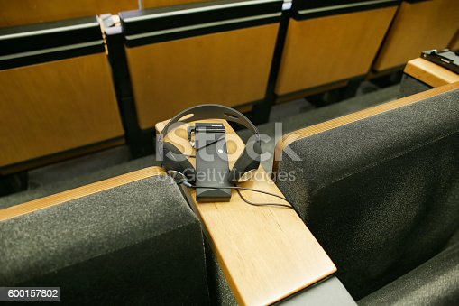 609903512 istock photo Meeting Hall 600157802