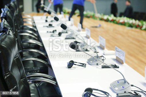 609903512 istock photo Meeting Hall 600157858