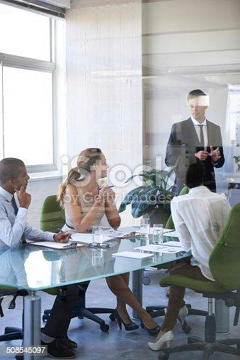 istock Meeting in progress 508545097