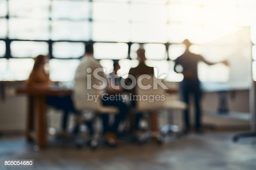 istock Meeting in session 805054680