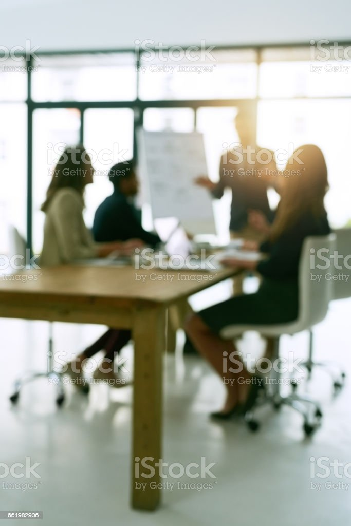 Meeting is session stock photo