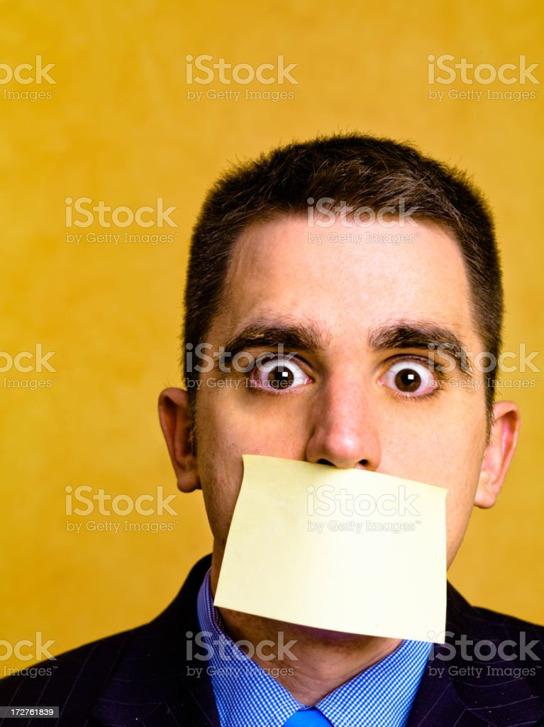 Meeting notes royalty-free stock photo