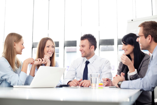 istock Meeting of business people 166468284