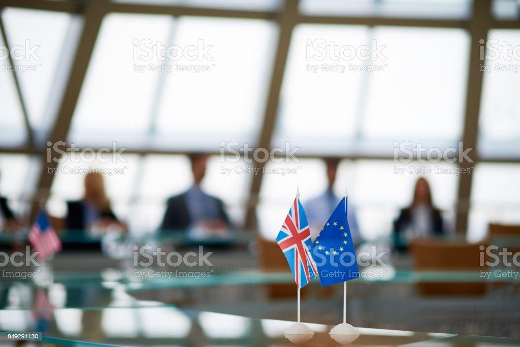 Treffen der Mitglieder der Europäischen Union – Foto