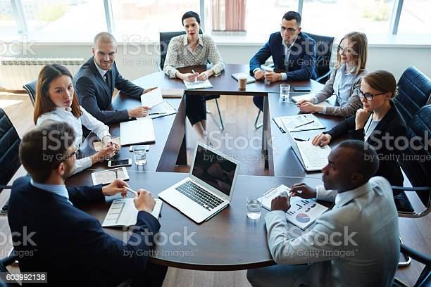 Meeting Of Shareholders Stock Photo - Download Image Now