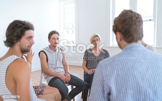 istock Meeting Of Support Group 923258918