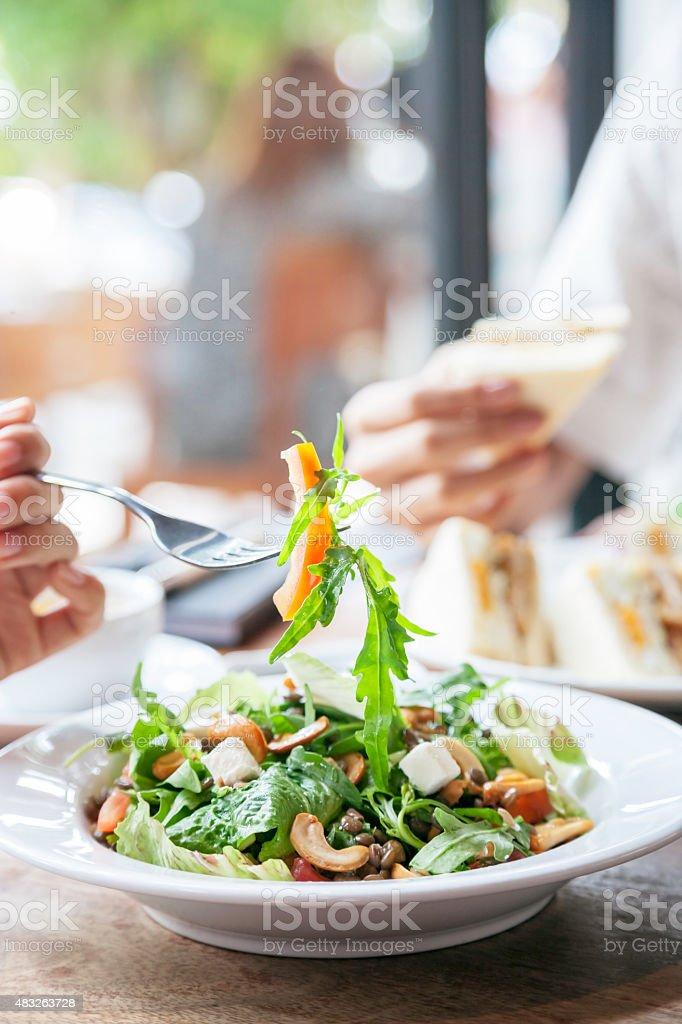 meeting mit Mittagessen – Foto