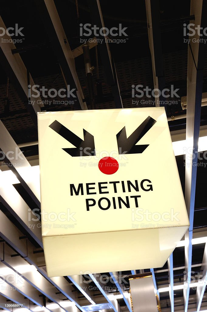 Meeting Point stock photo