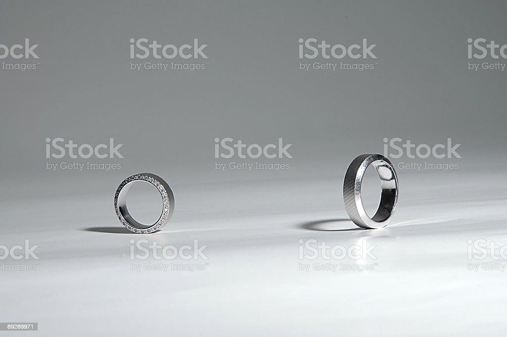 Meeting Rings royalty-free stock photo