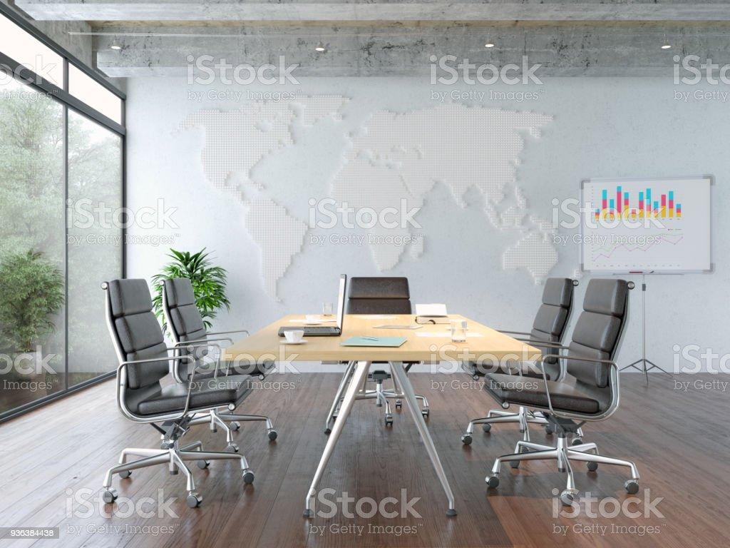 Tagungsraum im modernen Büro – Foto