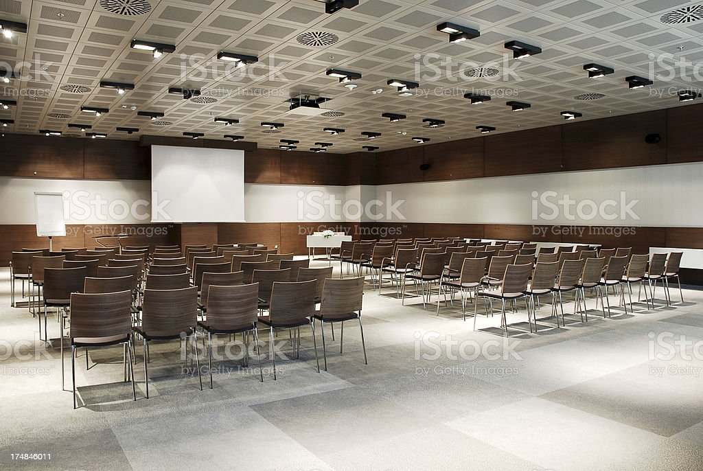 Meeting Room (Click for more) royalty-free stock photo