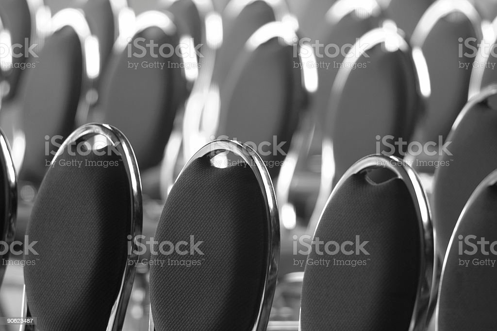 Meeting Room Seating royalty-free stock photo