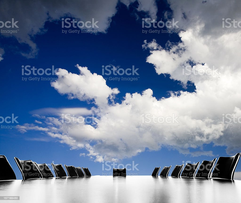 Meeting space royalty-free stock photo