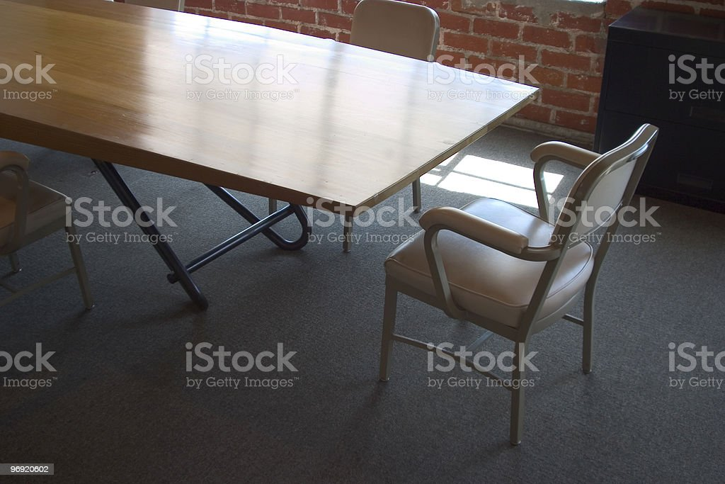 Meeting Table #1 royalty-free stock photo