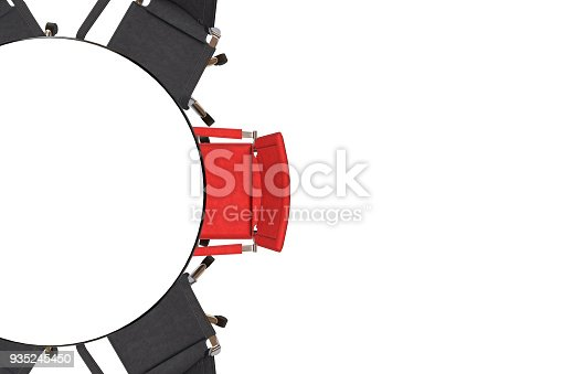 1064053478 istock photo Meeting table with chairs 935245450