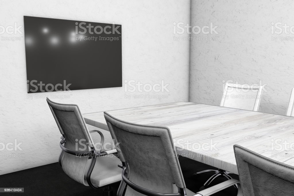 Pleasing Meeting Table With Chairs Stock Photo More Pictures Of Pdpeps Interior Chair Design Pdpepsorg