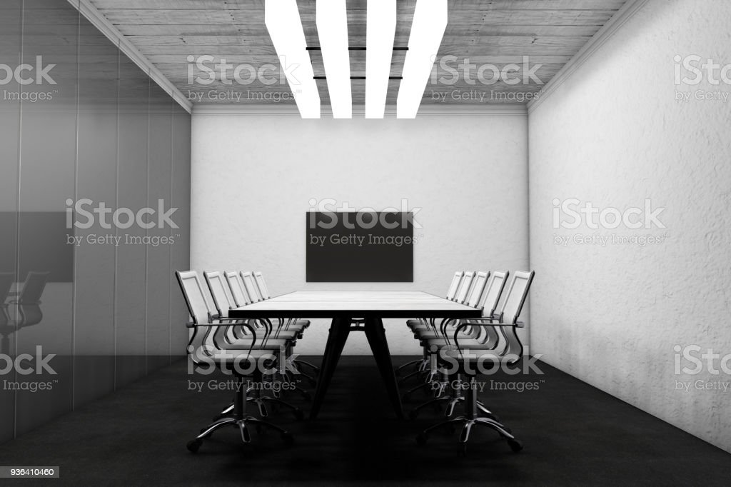 Astonishing Meeting Table With Chairs Stock Photo Download Image Now Pdpeps Interior Chair Design Pdpepsorg